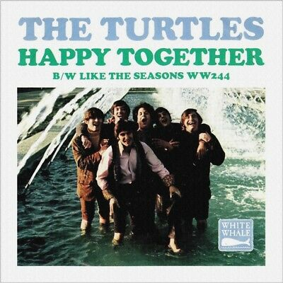 """7"""" THE TURTLES Happy Together / Like The Seasons WHITE WHALE Psychedelic US 1967"""
