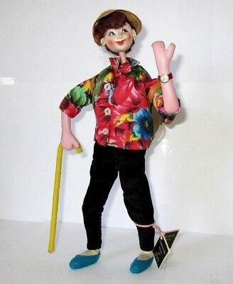 Vintage Rexard Caricature Doll of an Hiker - Superb 1960`s COLLECTABLE