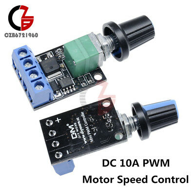 10A Motor Speed Control PWM Regulator LED Dimming Switch 5-16V Ultra Linearity