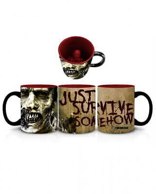 Lizenzierte The Walking Dead Zombie Tasse - Just Survive Somehow