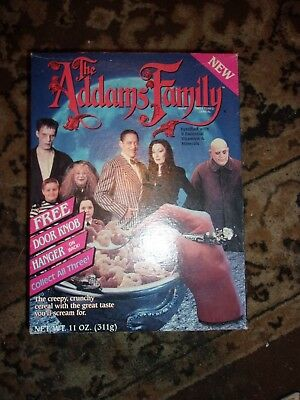 Vintage Addams Family  Cereal Box
