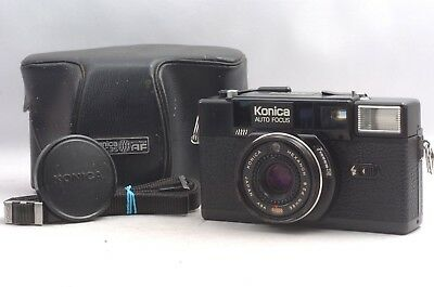 @ Ship in 24 Hours! @ Konica C35 AF2 35mm Compact Film Camera Hexanon 38mm f2.8