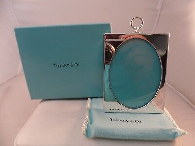 TIFFANY & CO. STERLING SILVER PICTURE FRAME WITH BAG & BOX misc