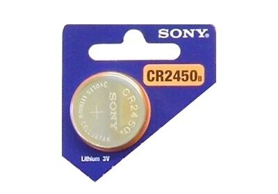 Button Battery 3V SONY CR2450 LITHIUM Remote control Somfy Volvo Bmw Vw Benz