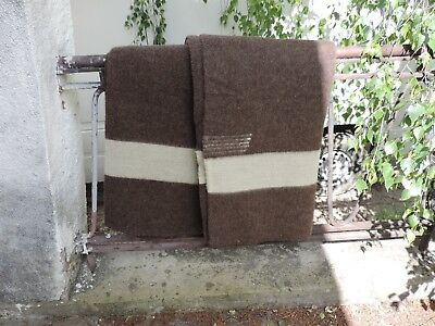 Five  Point  Decke - 100% Wolle  Indianer, Trapper, Tagesdecke
