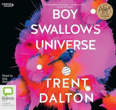 Boy Swallows Universe by Trent Dalton Compact Disc Book Free Shipping!