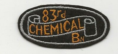 Near Mint Condition WW2 83rd Chemical Mortar Battalion Shoulder Sleeve Patch