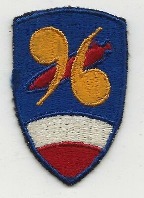 Near Mint Small Size 96th Chemical Mortar Battalion Shoulder Sleeve Patch