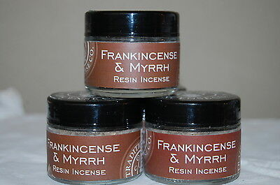 Frankincense & Myrrh Traditional  Incense Resin- Protection  40 Grams (1) Jar