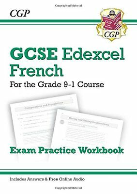 New GCSE French Edexcel Exam Practice Workbook - for the Grade 9... by CGP Books