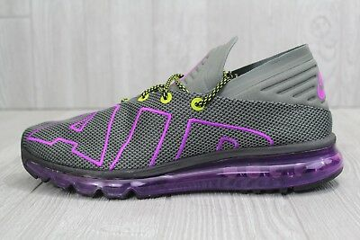 96352843c41817 30 NEW Men s Nike Air Max Flair Up Tempo Gray Purple Shoes AH9711-001 8.5
