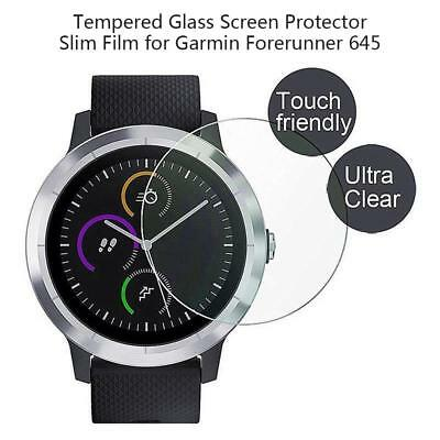 2pcs/set 9H Tempered Glass Screen Protector Film for Garmin Forerunner 645 Watch