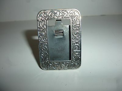 Small Solid Silver Picture Frame Marked 925