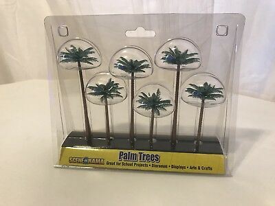 BRAND NEW Woodland Scenics Scene-A-Rama Palm Trees SP4152 New In Package