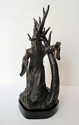 PAUL HORTON Signed Limited Edition Bronze Sculpture SHADOWLANDS WIZARD