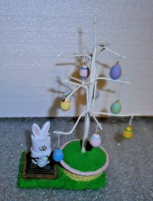 The Original S'mores Midwest Easter S'mores Bunny Eggs Tree Figurine