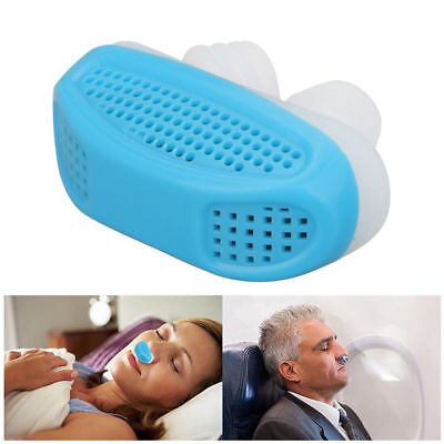 Acusnore Anti Snore Air Purifier Device Nose Breathing Aid Nasel Congestion Aids
