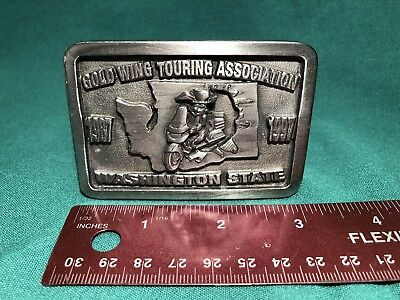 GOLD WING TOURING ASSOCIATION WASHINGTON STATE 1987-1997 Limited Edition No. 550