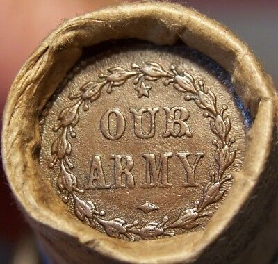 1889 Indian/war Token Ends Great Mixed Antique Roll As Shown In Pictures #9137