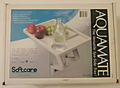 Spa Caddy Side Table Tray By Leisure Concepts