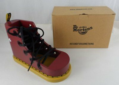 Dr. Doc Martens Advertising Display Shoe - Wooden Boot Lacing Tool Lace Trainer