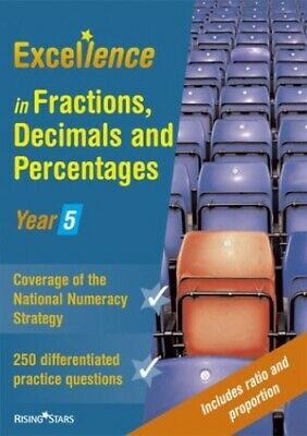 Excellence in Fractions, Decimals and Percentages:... by McGee, Nicola Paperback