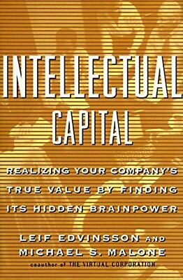 Intellectual Capital by Edvinsson, Leif Hardback Book The Cheap Fast Free Post