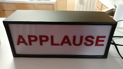 APPLAUSE Illuminated Sign Working Original Cord