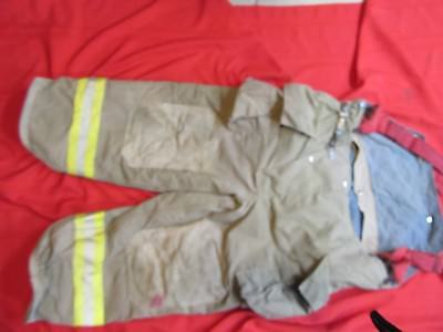 2003 FYREPEL Firefighter Bunker Turnout Pants 42-44 x 25  thermal liner GEAR