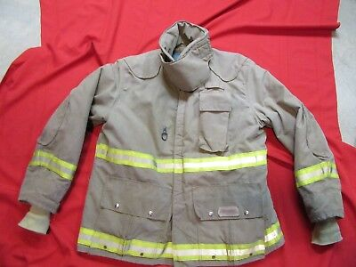 USED 2003 fyrepelFirefighter Bunker Turnout jacket 46-48 x 36 thermal liner GEAR