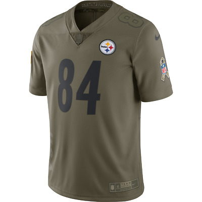 70e31febe Nike Pittsburgh Steelers Antonio Brown Men s Salute to Service Jersey L