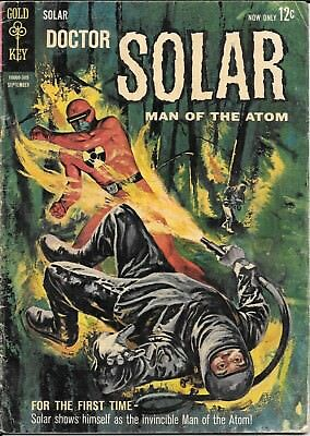 Doctor Solar, Man of the Atom #5 Intro. Man of the Atom in costume