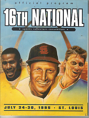 16Th National Sports Collectors Convention Musial Gretzky Babe Ruth Chamberlain