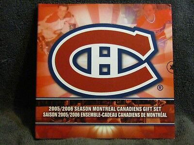 2005/2006  Canada   Montreal  Canadiens   Gift   Set....mint  Sealed