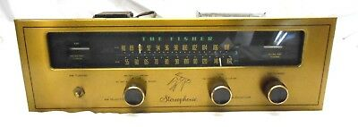 Rare Vintage~The Fisher 4000-R Tuner Tube Stereo ~ Repair Or Parts