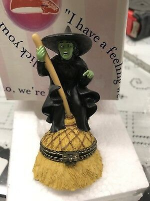 Wizard of Oz Wicked Witch Hinged Pill  Box by Enesco # 608726