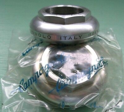 Campagnolo Super Record Alloy British Thread Top Headset Cup Vintage Nos New