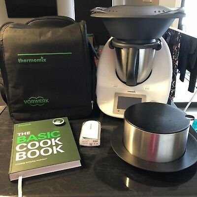 Thermomix TM5 + Travel Bag, Recipe Books, Cook-Key & Thermoserver