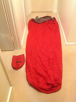 Bivi bag (BiviTech) Size large 2.2 m Emphatex breathable, colour red, used twice