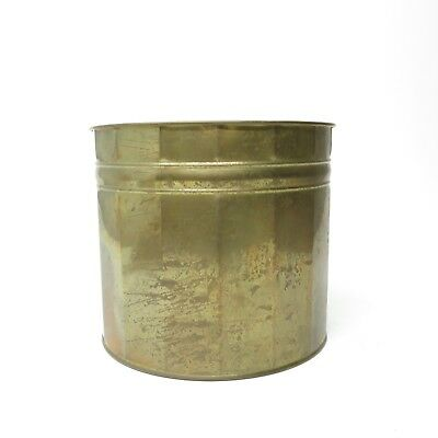 Vintage Brass Copper Planter Plant Holder Pots Boho Boho Mid Century Decor