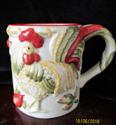 """ROYAL DOULTON    """" Chanticlair """"   Rooster  Mug    Excellent Condition"""