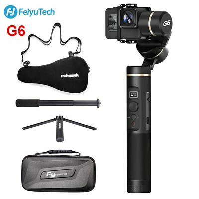 US Feiyu Tech G6 3-Axis Handheld Gimbal Stabilizer WiFi Bluetooth With Tripod