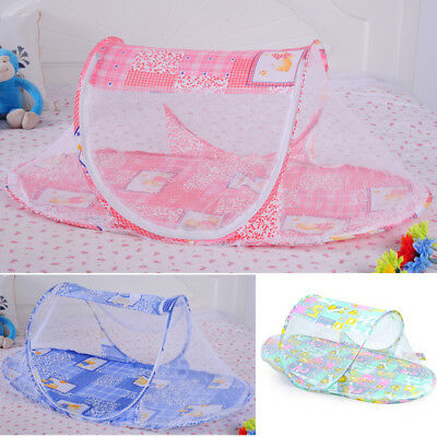 Baby Infant Kids Foldable Travel Bed Crib Canopy Mosquito Net Cot Tent Fashion