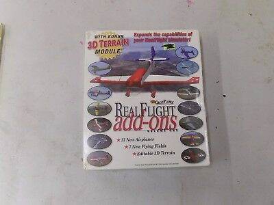 HB. Real Flight Add Ons 13 new airplanes 7 new flying fields