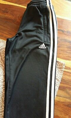 boys adidas tracksuit bottoms 9-10