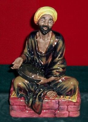 "Vintage Royal Doulton Porcelain Glazed Figurine "" The Mendicant "" HN1365"