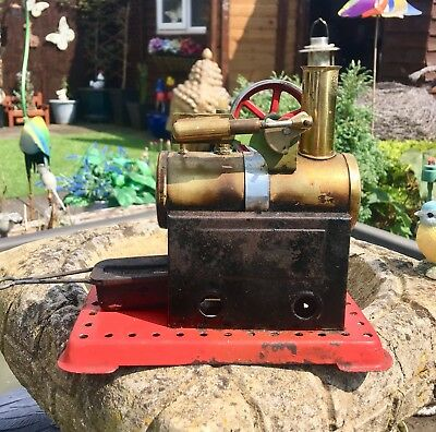 Mamod steam engine 1960s loft find
