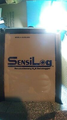 Nrp. Equipment, Sensilog H2S, Data Logger, Nib