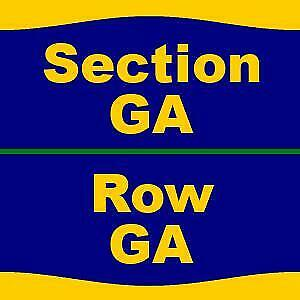 3 Tickets Muse 2/24/19 at American Airlines Center - TX - 114 B