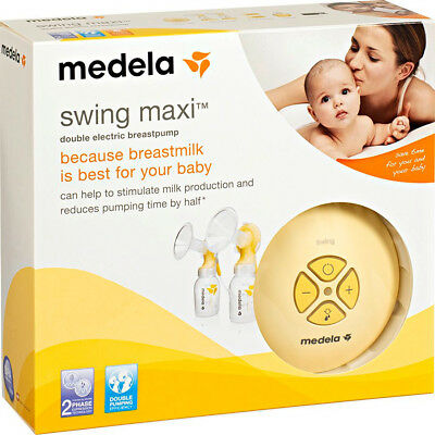 BRAND NEW unopened! Medela Swing Maxi Double Electric Breastpump - RRP $349